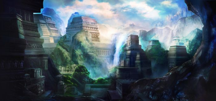 Temple City by Ateo88