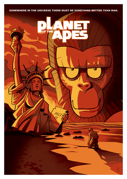 Planet of the Apes by ivewhiz