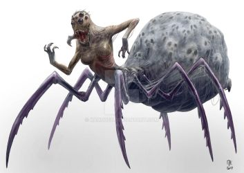 The Monster of the Week - Monster 01 by kahouet