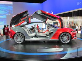 AIMS2012 - Ford EVOS Concept by TricoloreOne77