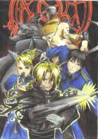 Full Metal Alchemist by Daniel4444