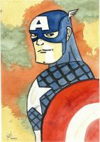 Captain America WC by nathanobrien