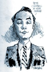 Pete Campbell by urban-barbarian