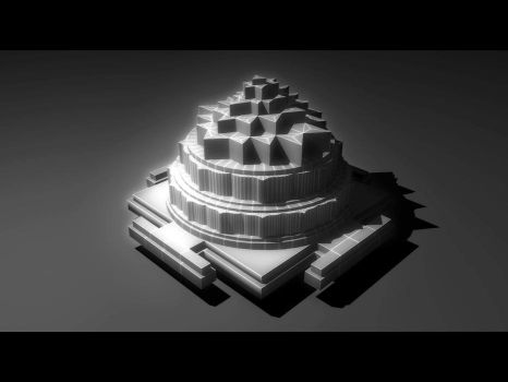 Shree Yantra V2 by adit