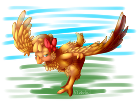 Chicken flight (Gift) by Fixielle