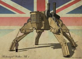 Mechanized Walker Mk1 by Marrekie