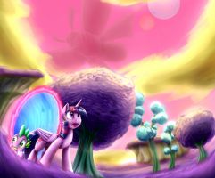 Out Of This Dimension by otakuap