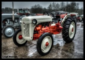 Little Ford Tractor by nicholls34
