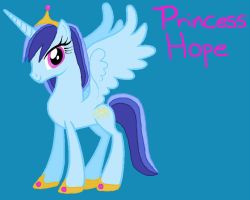 MLP FIM OC- Princess Hope by VoltaliatheMajestic