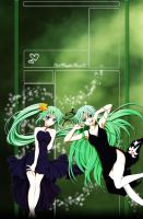 Higurashi Shion and Mion YTBG by HeartlessMia