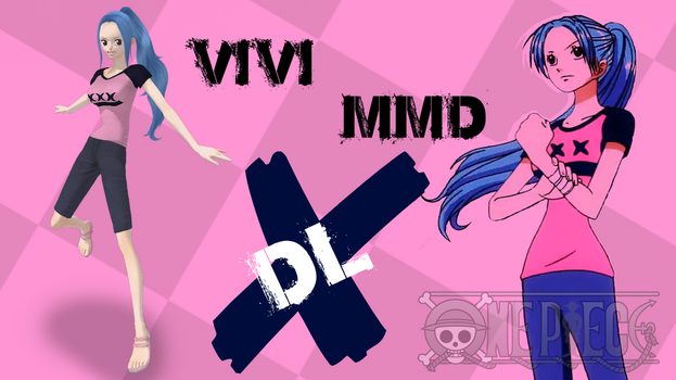 MMD One Piece Vivi DL by Friends4Never