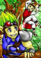 Jak and Daxter by Chlona