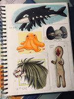 Page of some scps [1/2] by Idiza194