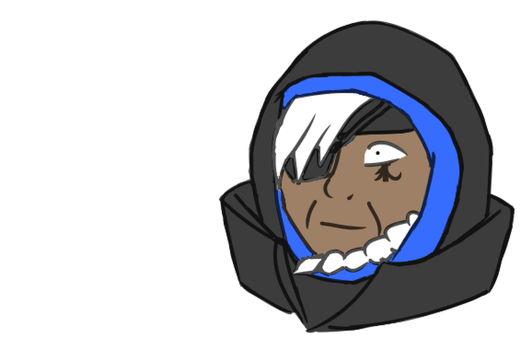 Dayly practice - Ana's pokerface by Daratrix