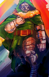 Doctor Doom by dnz85
