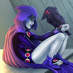 Raven by DecepticonCyberWolf