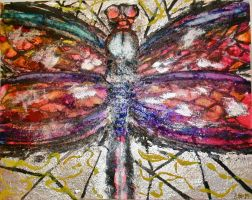 Mosaic Dragonfly by EAM6
