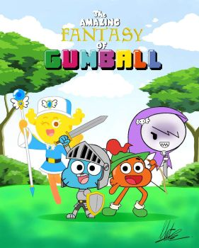The Amazing Fantasy of Gumball by RadiumIven