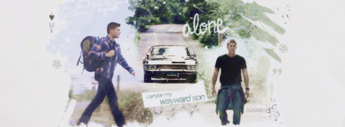 carryon my wayward son by huruekrn-ackles