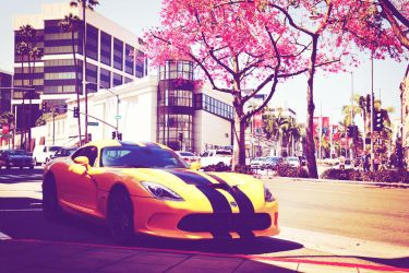 Dodge Viper RT in Beverly Hills by Khair-Udin