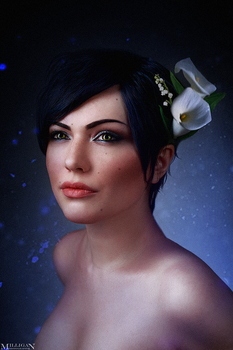 The Witcher - Flower portraits - Fringilla by MilliganVick