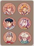 [fanart] maremir stickers by housewife-daily