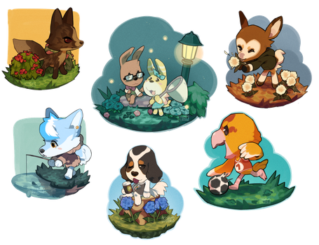 ACNL Style Mini Batch by cheepers