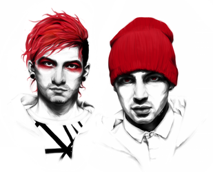 Twenty One Pilots by khei-kun