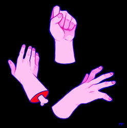 Handsy by megadinkloid