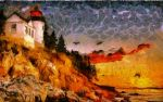 Maine Lighthouse by montag451