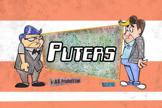 Commission: 'Puters title card by Granitoons