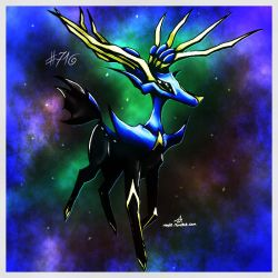 Pokemon of the Week - Xerneas Neutral Mode by Noyle