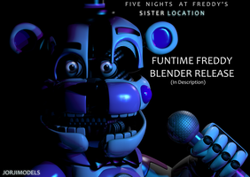 Funtime Freddy Blender Release by jorjimodels