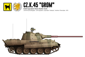 Cz.K.45 Grom (2) by CountGooseman
