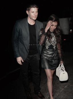 Jensen Ackles And Nina Dobrev Manip {5} by HappyFaceIrene