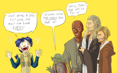 Knights Of The Not-So-Old Republic by surfersquid
