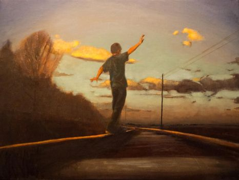 Down the tracks by David681