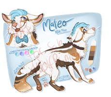For sale: Mateo (closed) by xWolfPrincex