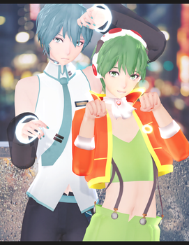 DL: Tda GUMO and MIKUO V3 [4300 Watcher's GIft] by Jjinomu