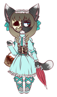 [CLOSED] OTA - Undead lolita by BlueChanAdopts