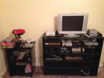 My retro entertainment section by Twilyx360