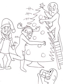 Christmas DTS- Christmas Tree Disaster by MissEljebel