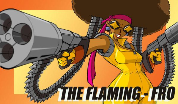 The Flaming Fro by ShoNuff44