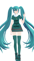 - MMD NC - NUIC Miku by NoUsernameIncluded