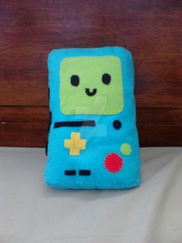 Bmo plushie by Emily-Draws-Things