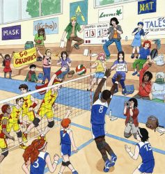 Volleyball BD et Paillettes by Neruall