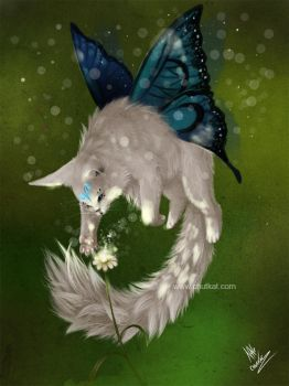 Old Faerie Cat by chutkat