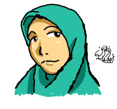 (practicing) muslimah intuos by zulan477