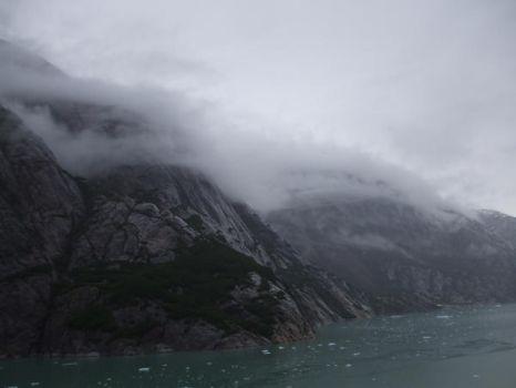 Foggy Alaskan Mountains by KillerzSpree