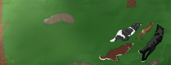 Felvargs: Chase that Ram! by Deariley